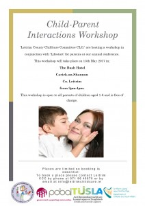 child parent interactions poster - picture