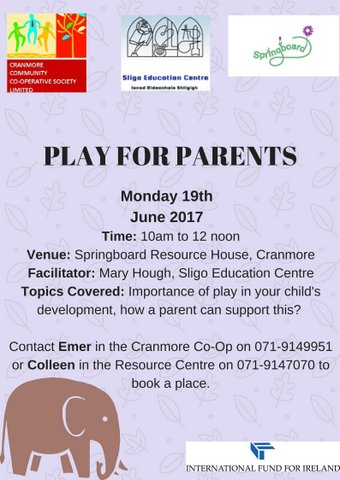 Play for parents june